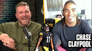 Pat McAfee & Steelers Chase Claypool Talk 4 TD Performance, Being A Rookie In 2020, & Big Ben