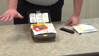 Replacing a battery in a Defibrillator