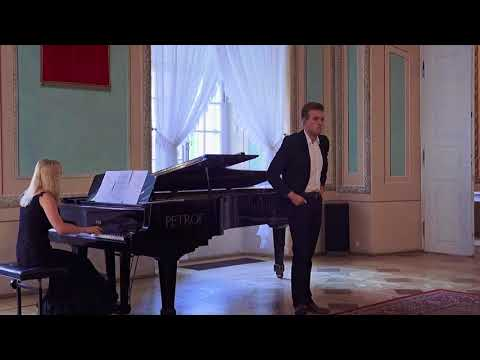 """W. A. Mozart -  Count Almaviva's aria from the opera """"Le Nozze di Figaro"""", Radosław Góra"""