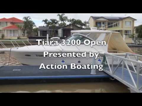 Tiara 3200 Open Sports Yacht for sale Action Boating boat sales Gold Coast Queensland Australia