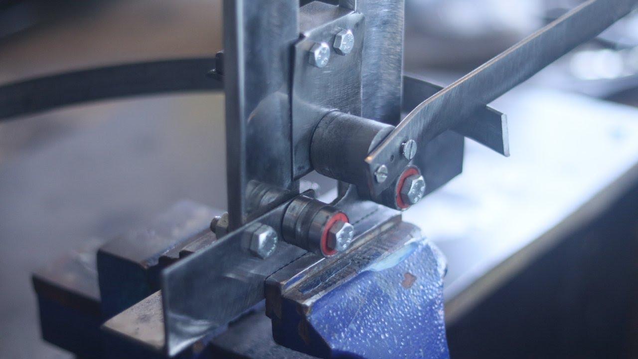 Make A Metal Bender | Simple Homemade Roller Bender | SD 002