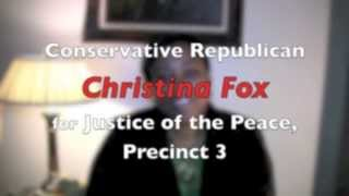 Why I want to be your next Justice of the Peace! www.checktheboxforfox.com