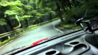 INITIAL D REAL LIFE -  Driving Up Haruna (AKINA) Mountain