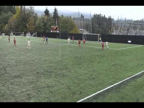 Peninsual College Soccer Best Goal Ever