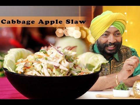 Easy Cabbage Apple Slaw - Healthy Recipe