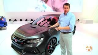 2017 Honda Civic Type R: Paris Auto Show - Video