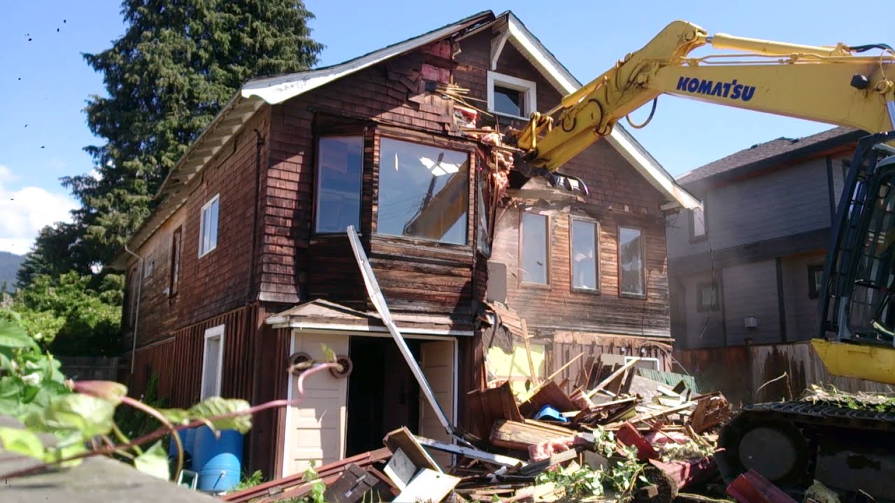 House demolition part 1 youtube for House photos hd