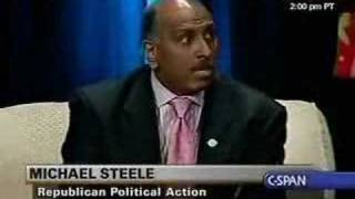 Michael Steele on the Democratic Party and Being Black