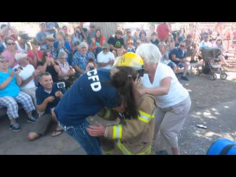Firefighter Keeps Things Hot from YouTube · Duration:  1 minutes 10 seconds