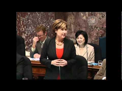 Christie Clark speaking  Linda Reid Supported AntiBullying Long Before Others