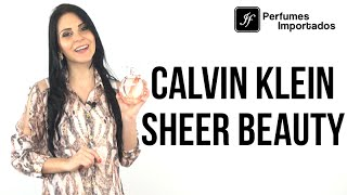 Perfume Calvin Klein Sheer Beauty Feminino – Eau de Parfum