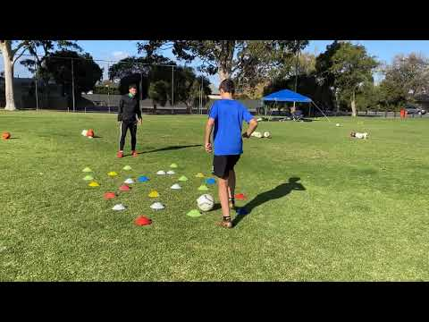 His Work Ethic Is Unreal! Look & Learn! - Adelaide 1:1 Private Soccer Coach | Soccer Life Mastery