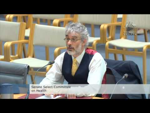 RACGP evidence at Senate Select Committee on Health