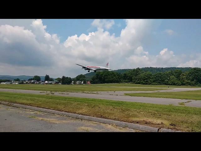 Spirit of Freedom departs William T. Piper Memorial Airport.