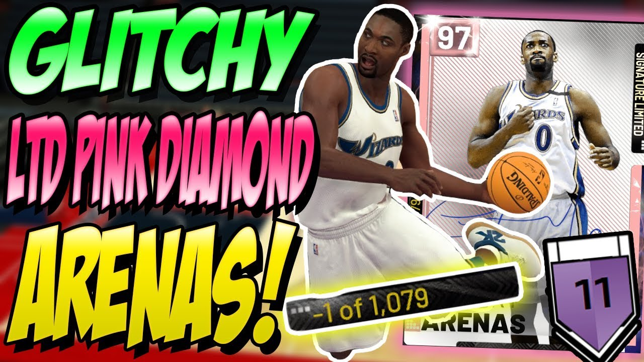Nba 2k19 Myteam Limited Pink Diamond Gilbert Arenas