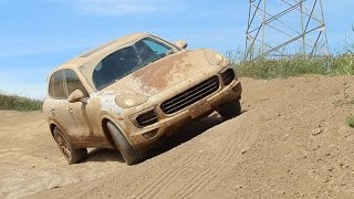 2017 Porsche Cayenne OFFROAD Review and Test Drive