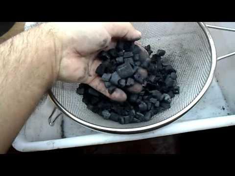Получение активированного угля   2
