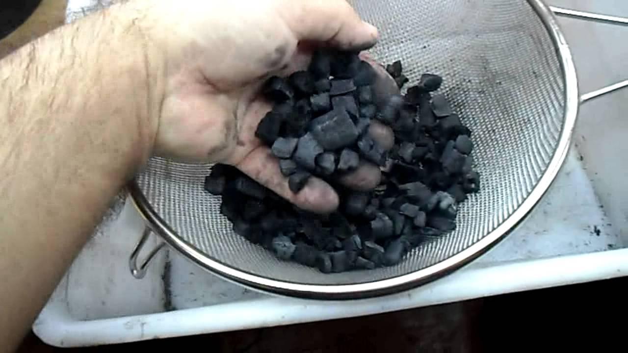 Как сделать активируемый уголь