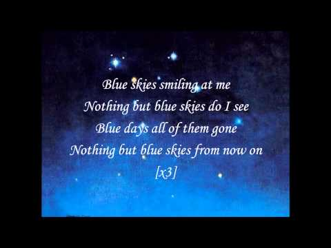 Willie Nelson-Blue Skies (with Lyrics)