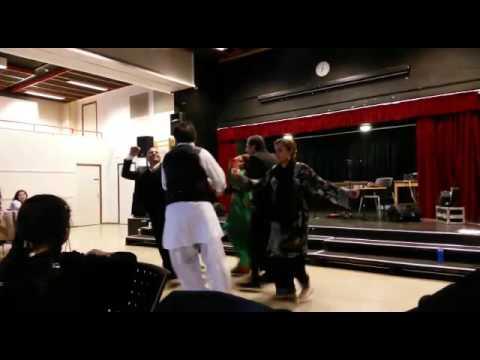 Balochi dance in northern Europe