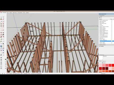 видео: Проект каркасного дома. Все переделаю!  Что не так с конструкцией?  Пол, стены, крыша.
