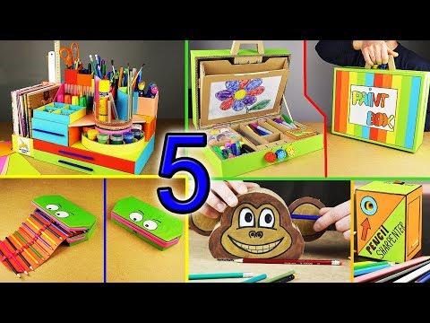 5 Amazing DIY Ideas For SCHOOL (compilation)