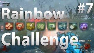 ALL 8 PERKS - Origins: Rainbow Perk Challenge (Part 7) - Black Ops 2 Zombies