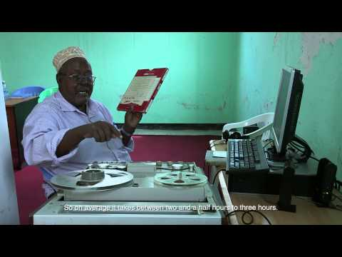 Focus on Somalia: RADIO MOGADISHU ARCHIVE DIGITIZATION EP. 29