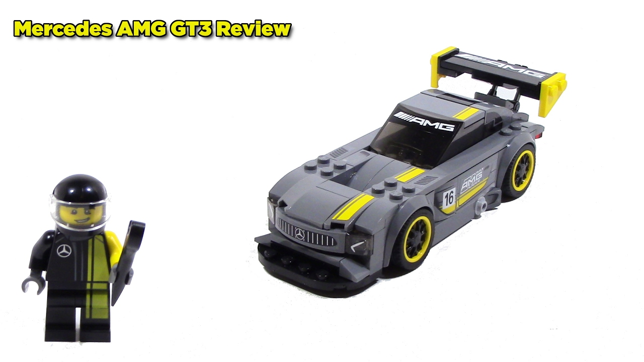 lego speed champions 75877 mercedes amg gt3 review youtube. Black Bedroom Furniture Sets. Home Design Ideas