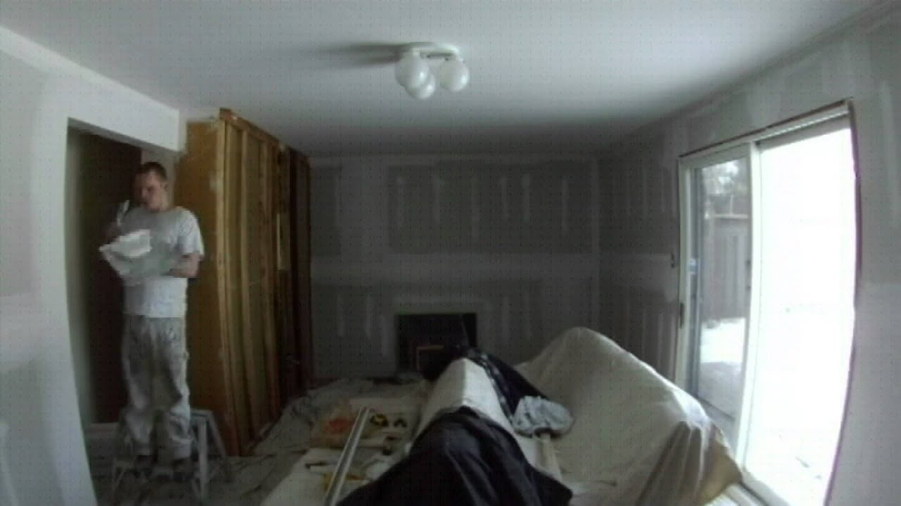Timelapse Panelling To Drywall Youtube
