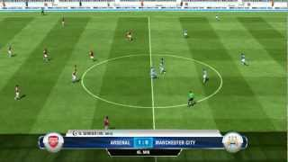 PES 2013 vs FIFA 13 gameplay HD - comparison [PS3]