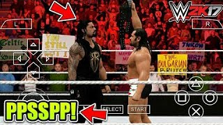 (300 mb) How to download wwe 2k17 psp iso highly compressed [PPSSPP] In any Android device hindi