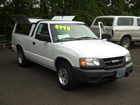2000 Isuzu Hombre S **Locally Owned** K10084A