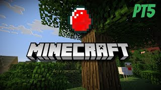 Minecraft series Pt5 the ( MEGA TREE IS BACK & BETTER!!!)