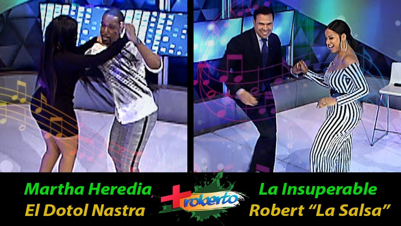 La Insuperable / Roberto vs Martha Heredia / Dotol Nastra bailando Salsa