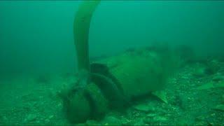 На дне Черного моря обнаружили военный самолет