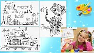 Рисуют дети. Развитие творческих способностей детей. Уроки рисования. Дудлинг