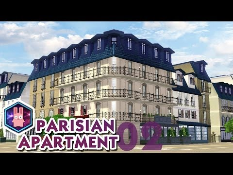 The Sims 3 -Speed Build- Parisian Apartment No. 02