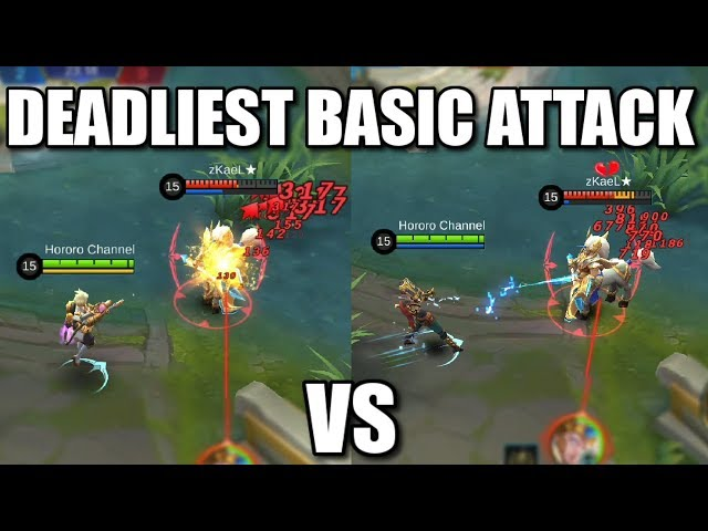 THE MOST DEADLIEST BASIC ATTACK KIMMY VS CLAUDE