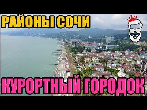 Районы Сочи, Адлера и Красной Поляны - Курортный Городок