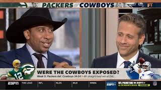 First Take 10/7/19   Stephen A. Smith on Week 5: Packers def. Cowboys 34-24