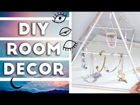 DIY Tumblr Inspired Room Decor 2016  YouTube