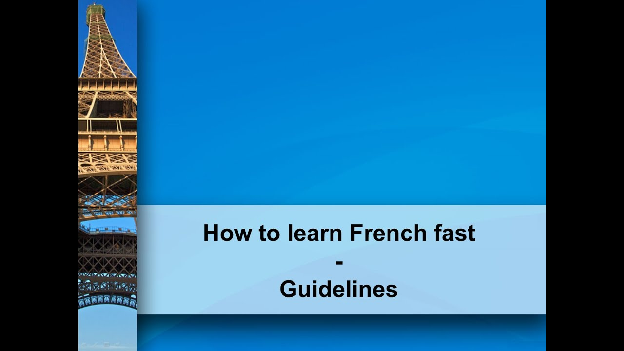 The Best Way to Study French for Speaking • French Today
