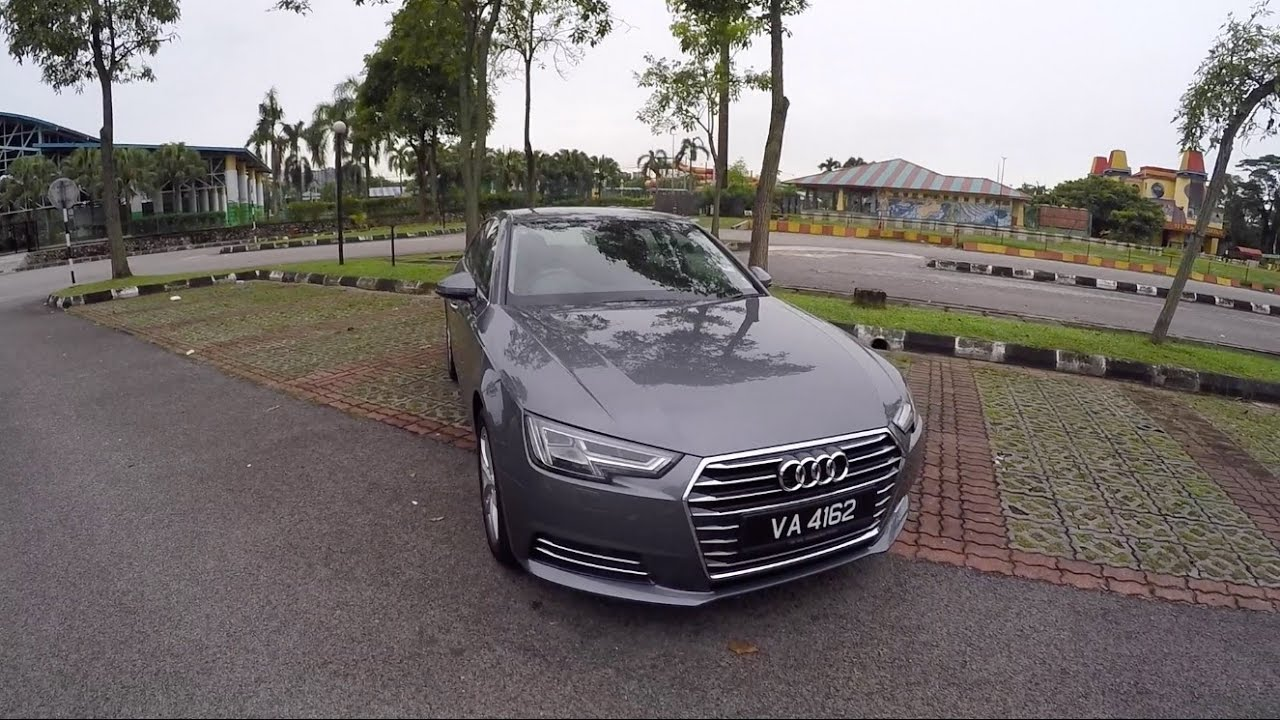 2018 audi a4 b9 2 0tfsi full in depth review evomalaysia. Black Bedroom Furniture Sets. Home Design Ideas