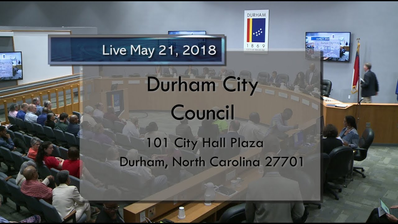 Durham City Council May 21 2018 Youtube