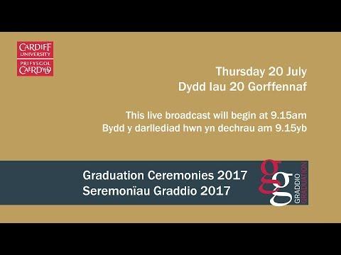 Cardiff University Graduation Ceremony 20 July 2017