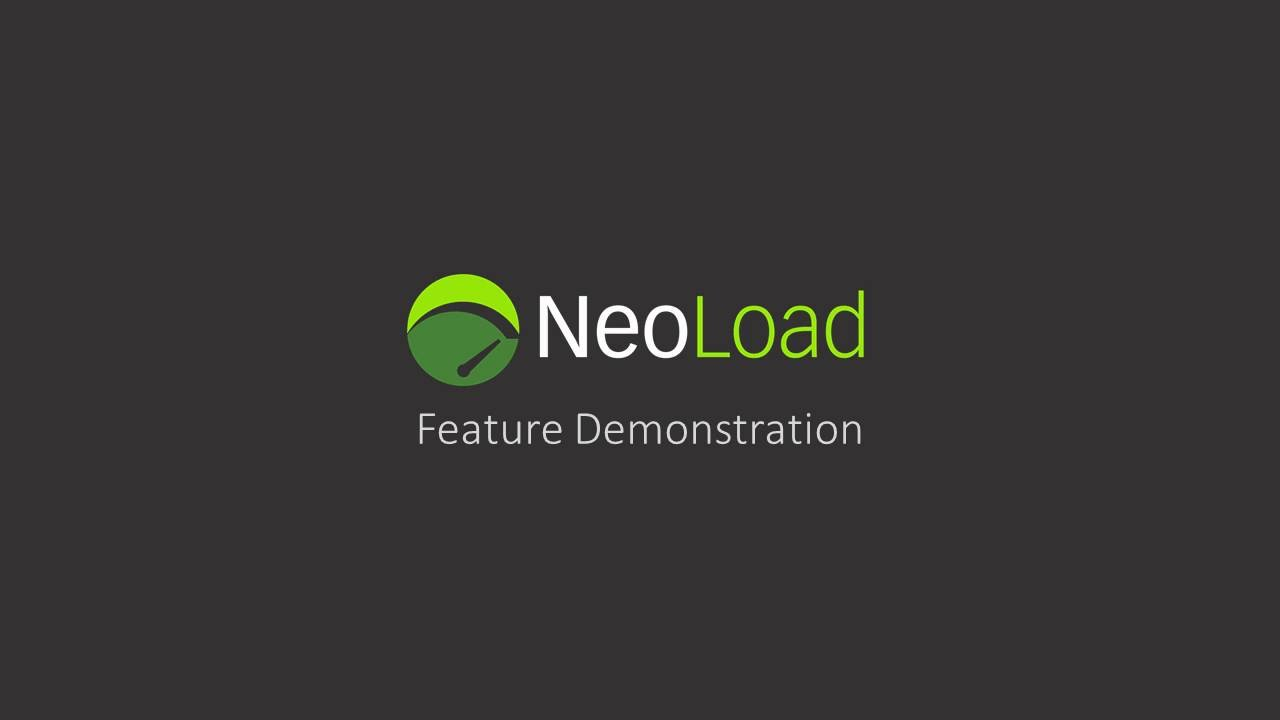 NeoLoad Feature Demo - YouTube