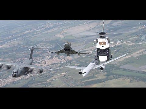 Airbus' Historic Family Flight