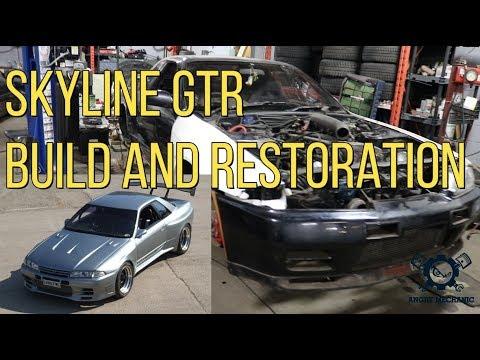 Nissan Skyline R32 GTR Build and Full Restoration
