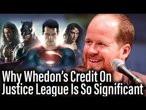 Joss Whedon Gets Writers Credit On Justice League, Proves Significant Involvement